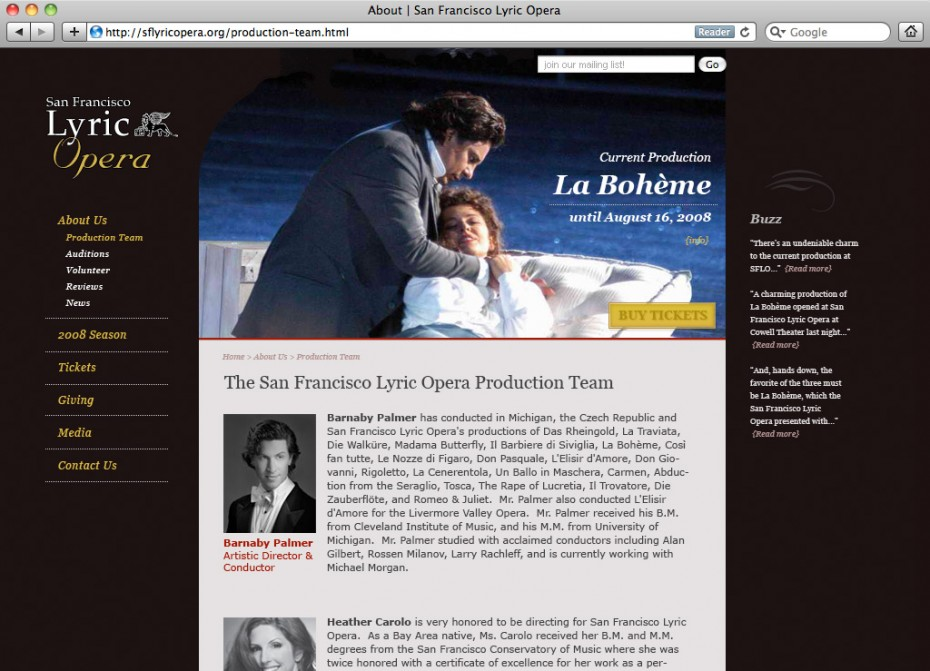 SF lyric opera 930x671 San Francisco Lyric Opera Website Redesign