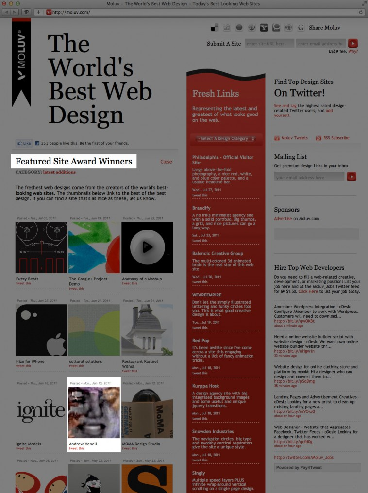 avcom moluv 758x1016 AndrewVenell.com a Featured Site on Moluv: The Worlds Best Web Design